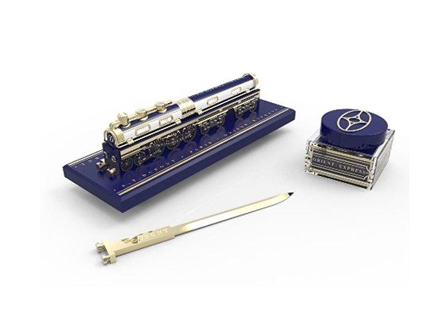 Набор «Orient Express»: ручка, перьевая с подставкой, нож для бу