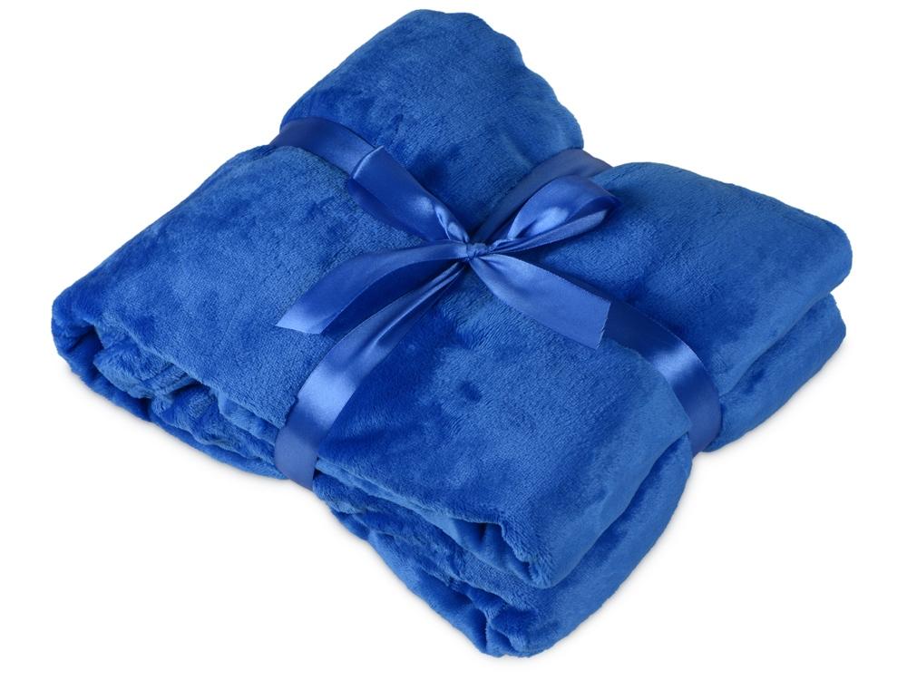 Плед мягкий флисовый Fancy, синий