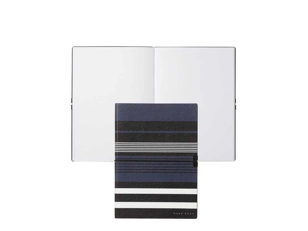 Блокнот формата А5 Storyline Stripes Blue