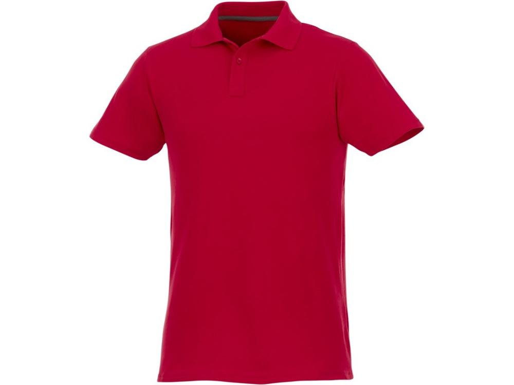 Мужское поло Helios с коротким рукавом, красный