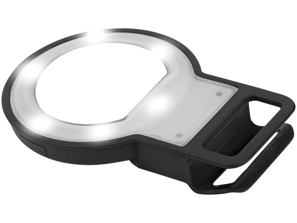 Вспышка LED с зеркалом, черный