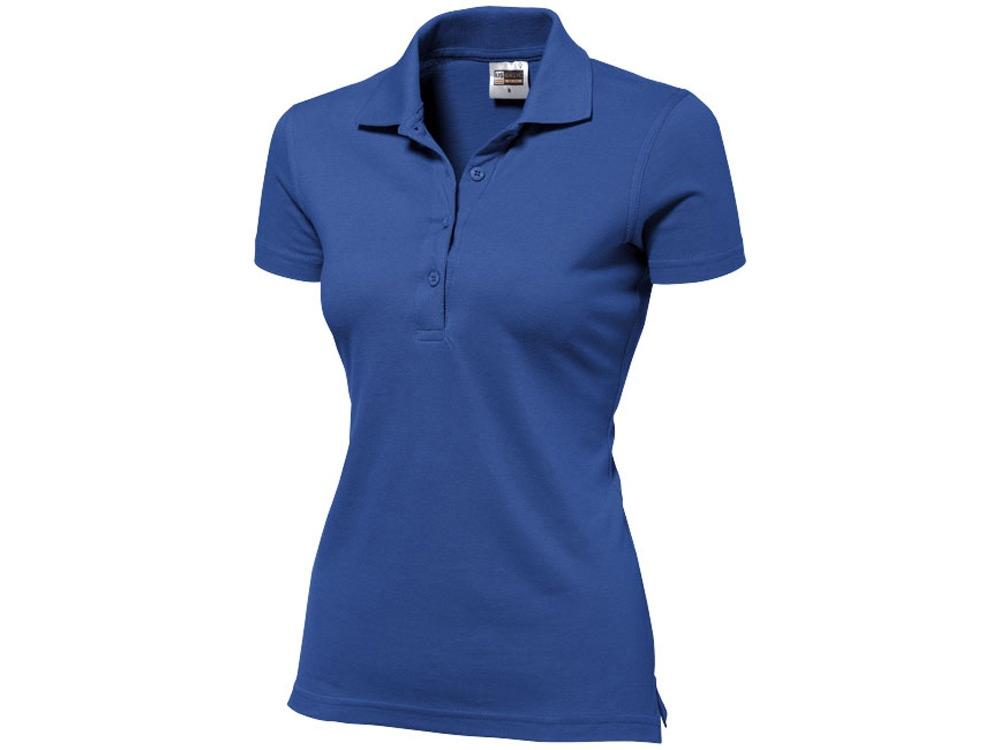 Рубашка поло First женская, классический синий