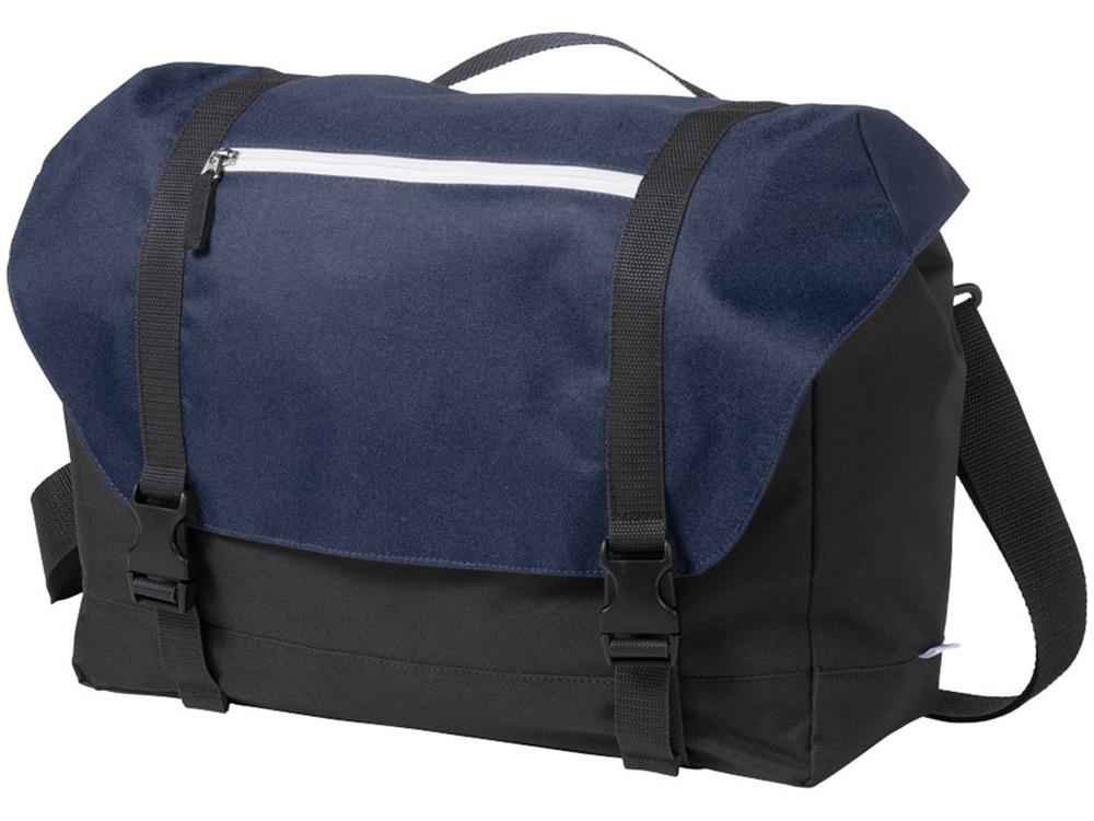 Сумка Oakland для ноутбука 15,6, черный/темно-синий