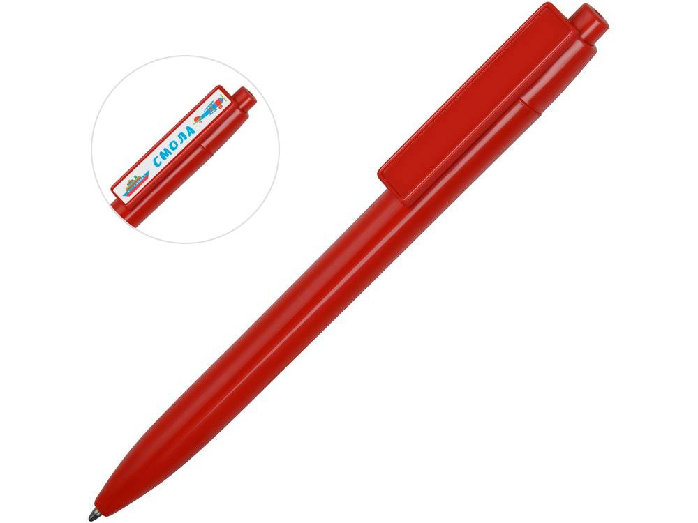 Ручка пластиковая шариковая Mastic под полимерную наклейку, красный