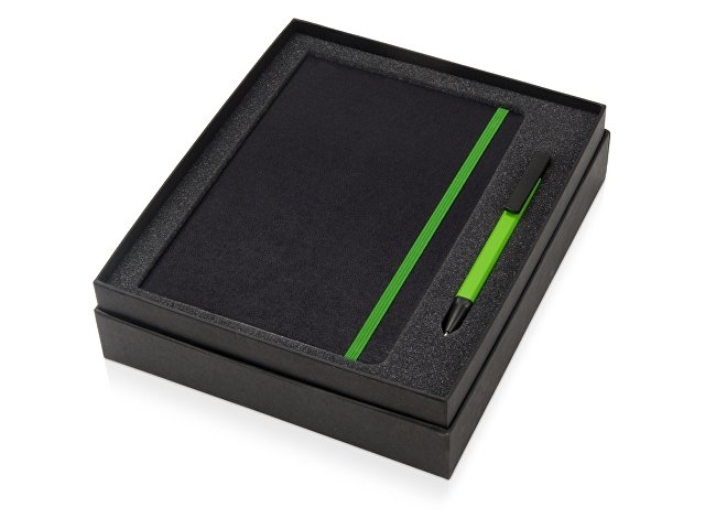 Подарочный набор «Jacque» с ручкой-подставкой и блокнотом А5