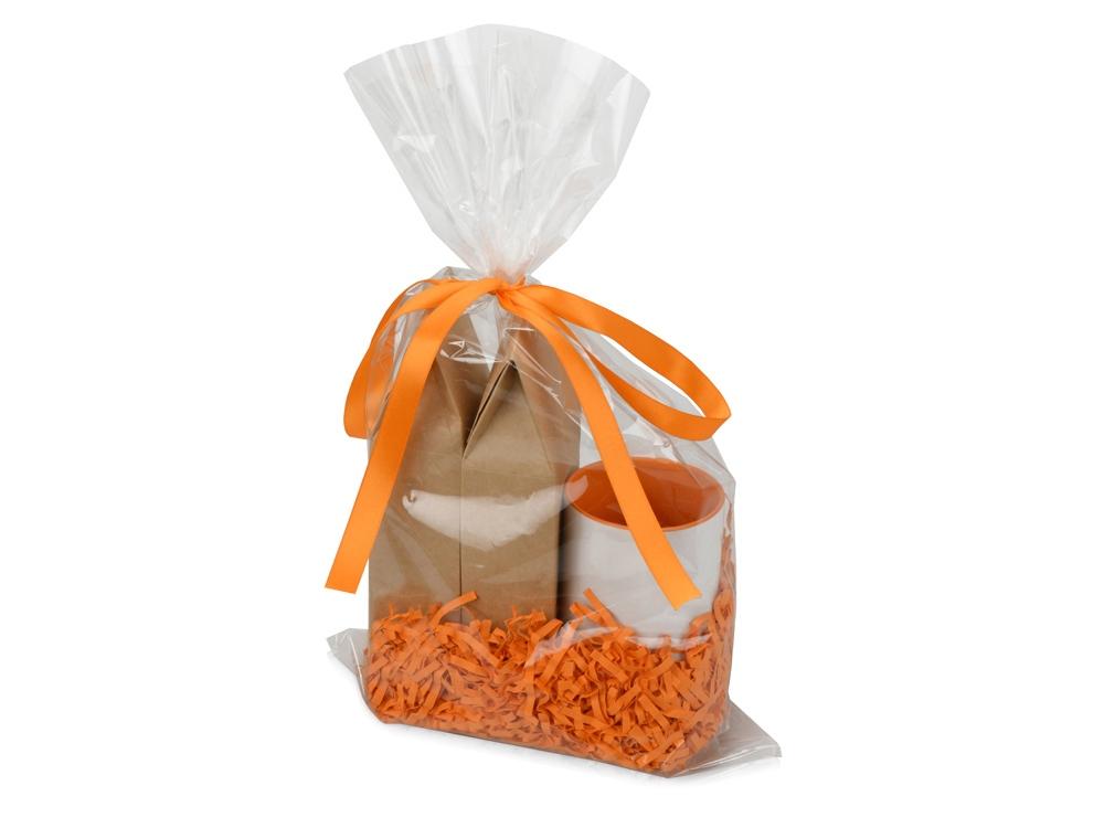 Подарочный набор Tea Duo Superior с двумя видами чая, оранжевый