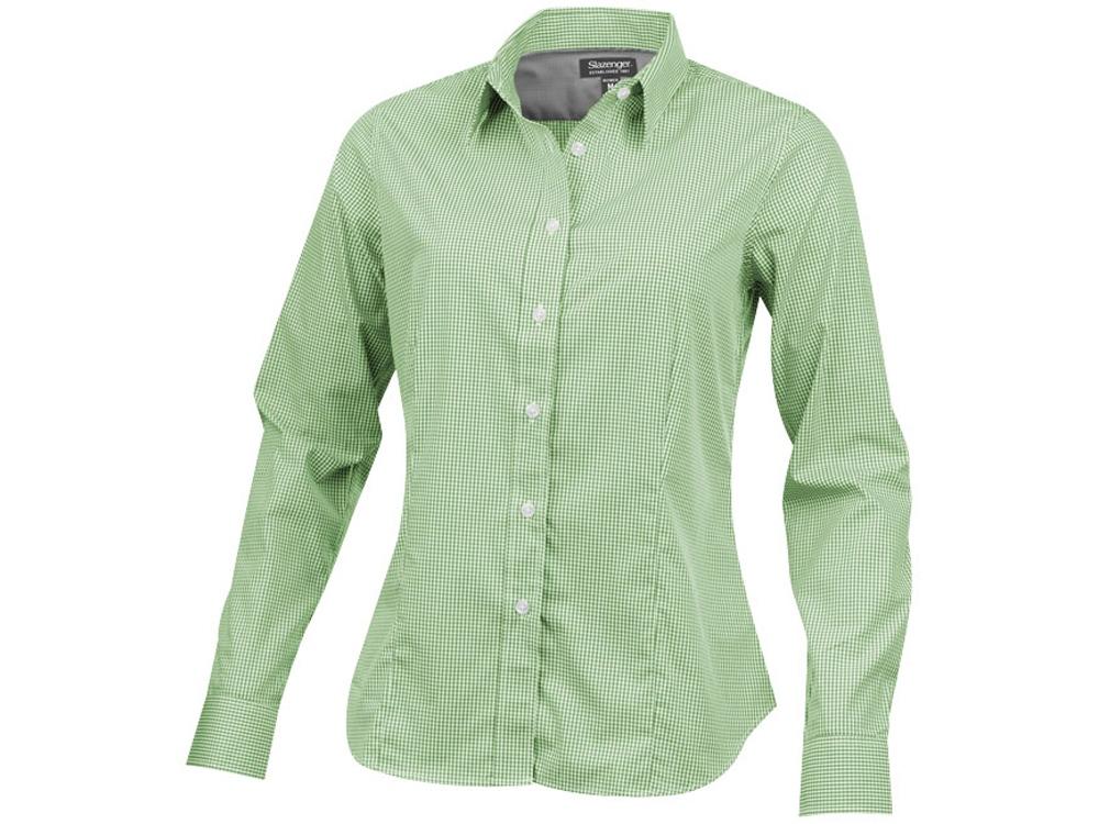 Рубашка Net женская с длинным рукавом, зеленый