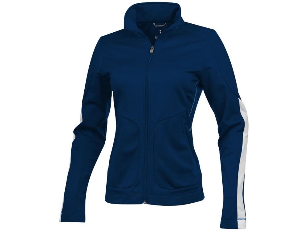 Куртка Maple женская на молнии, темно-синий