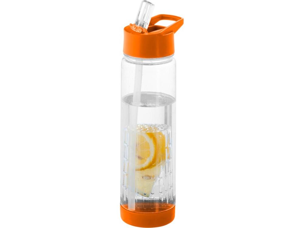Бутылка Tutti Frutti, оранжевый