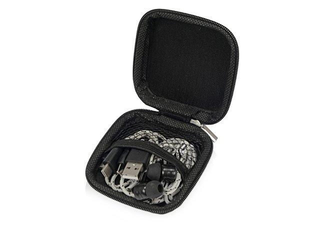 Набор «In motion» с наушниками и зарядным кабелем 3 в 1