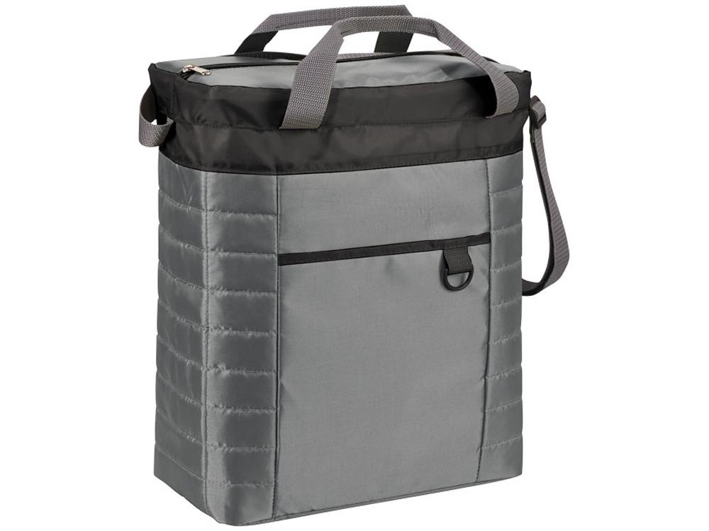 Стеганая сумка-холодильник Quilted Event, черный