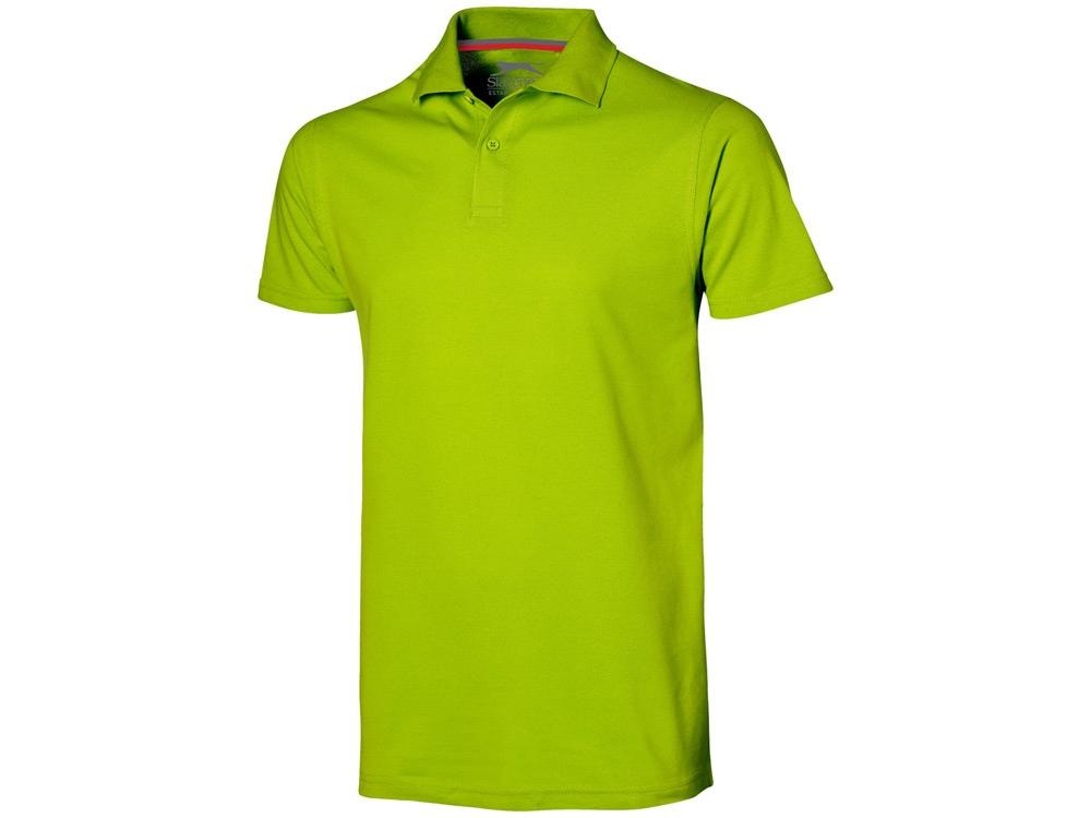 Рубашка поло Advantage мужская, зеленое яблоко