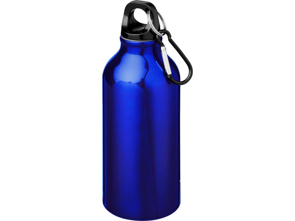 Бутылка Oregon с карабином 400мл, синий