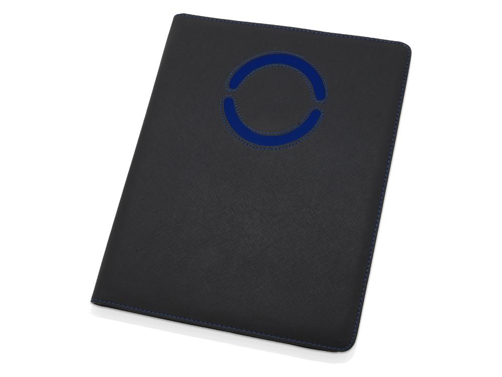Папка для документов Эдингбург, черный/синий