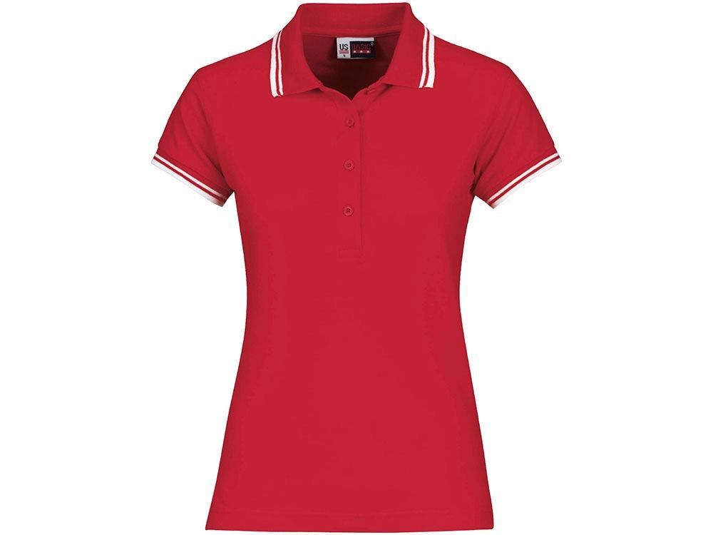 Рубашка поло Erie женская, красный