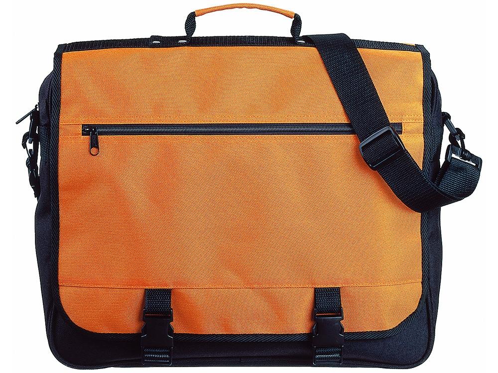 Сумка Anchorage, оранжевый/черный
