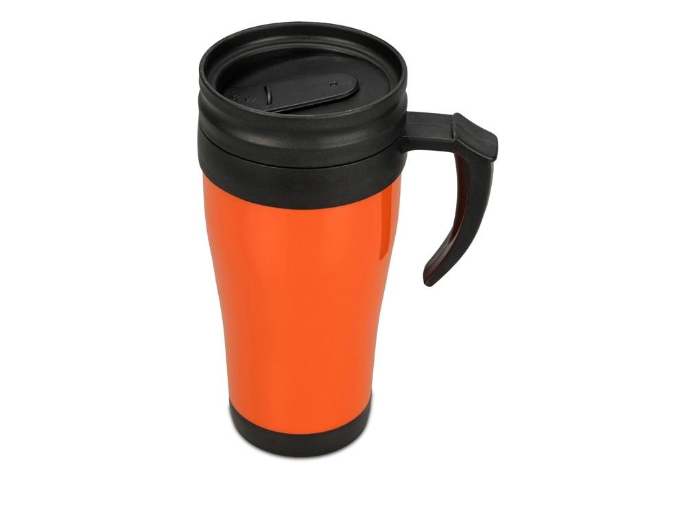 Кружка с термоизоляцией Silence 350мл, оранжевый