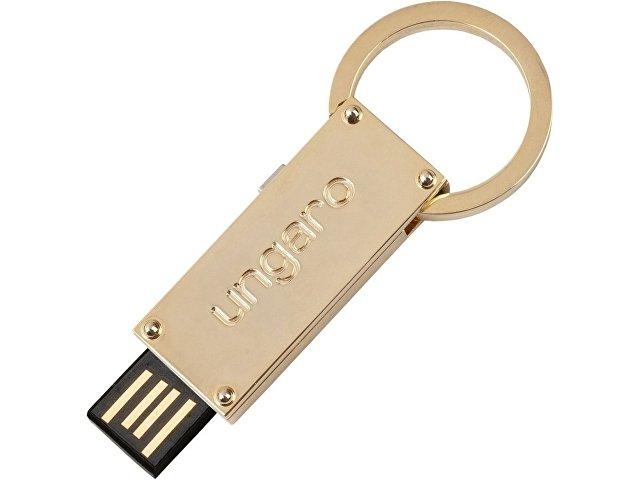 Подарочный набор: ручка шариковая, USB-флешка на 4 Гб