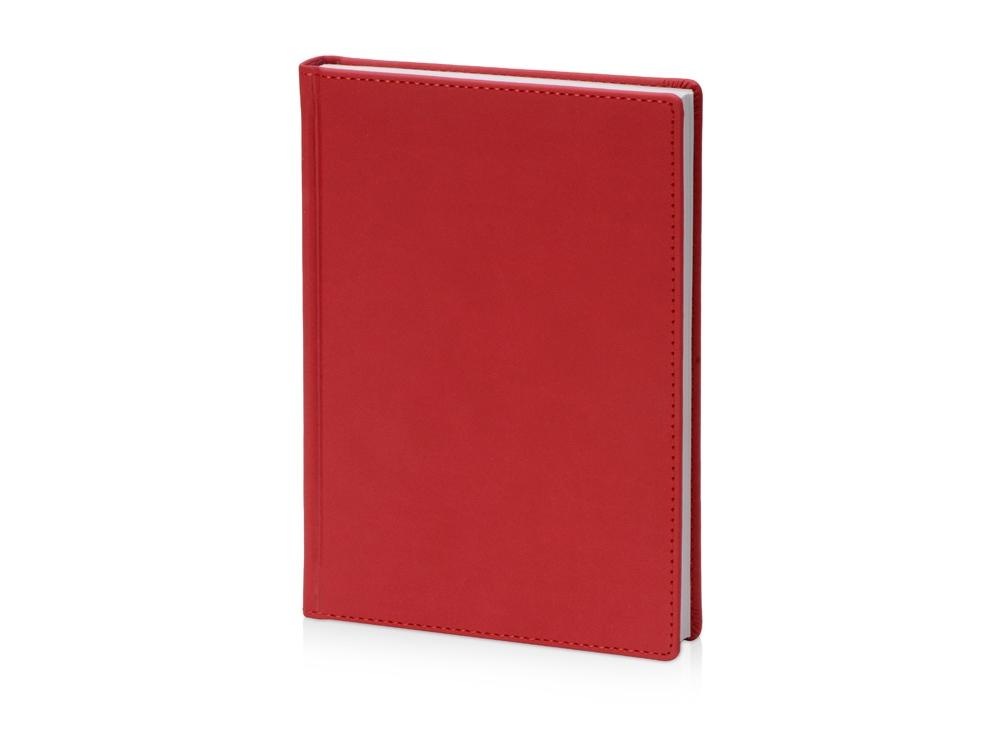 Ежедневник недатированный А5 Velvet, красный
