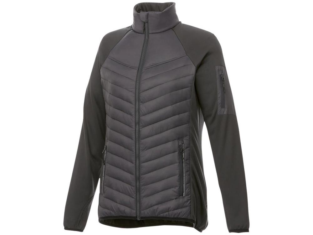 Женская утепленная куртка Banff, серый графитовый