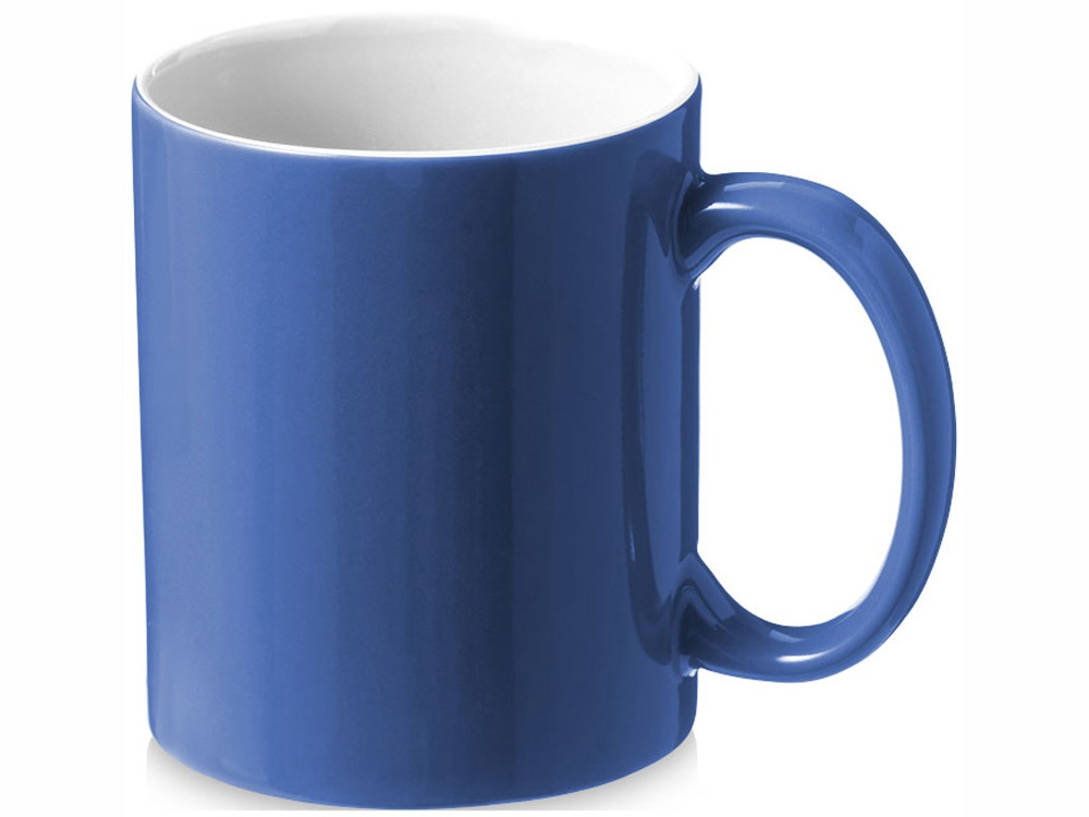 Кружка керамическая Java, синий/белый