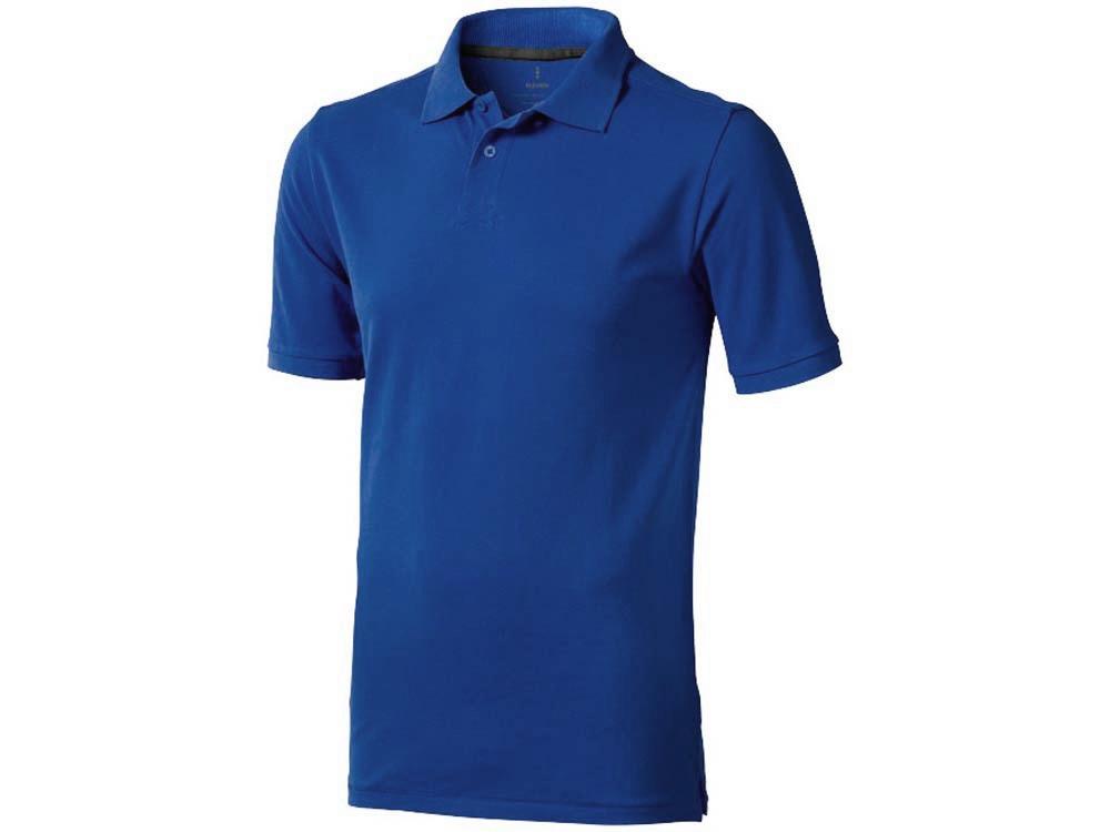 Рубашка поло Calgary мужская, синий