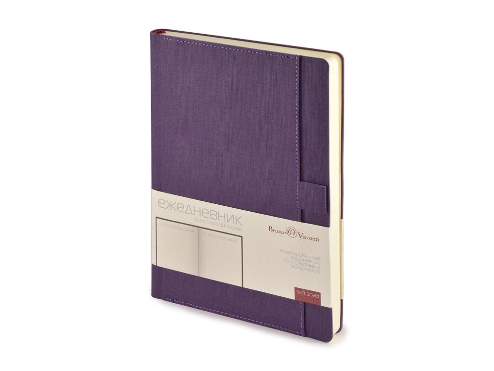 Ежедневник недатированный А5 Marseille, фиолетовый