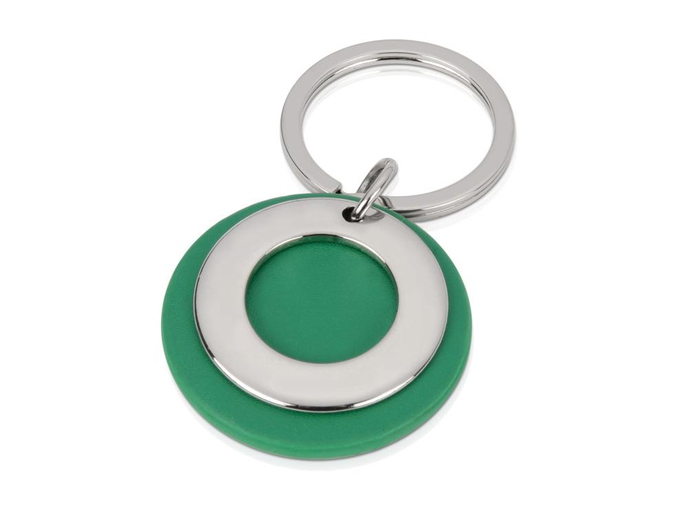 Брелок Корал-Спрингс, зеленый/серебристый