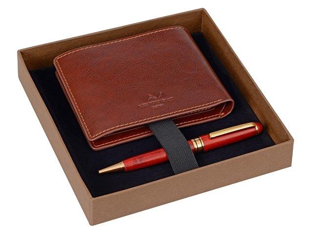 Набор: портмоне, ручка шариковая (арт. 28586)