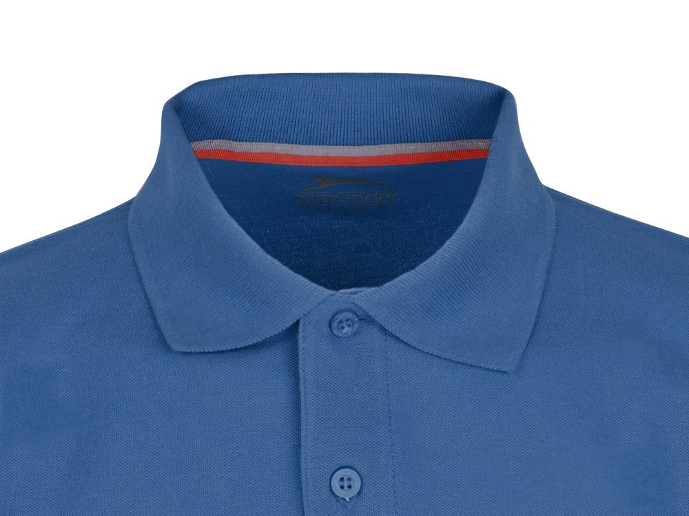 Рубашка поло Point мужская с длинным рукавом, небесно-голубой