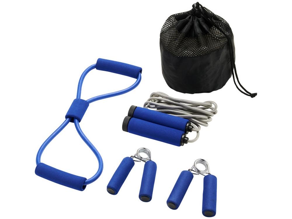 Набор для фитнеса Dwayne, синий