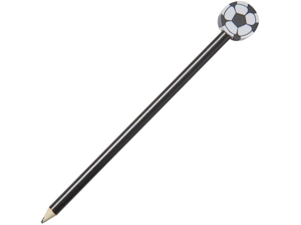 Карандаш Футбольный мяч, черный