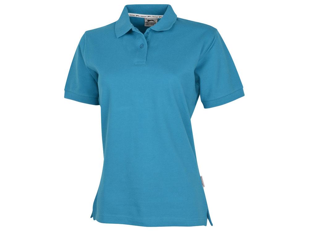 Рубашка поло Forehand женская, аква
