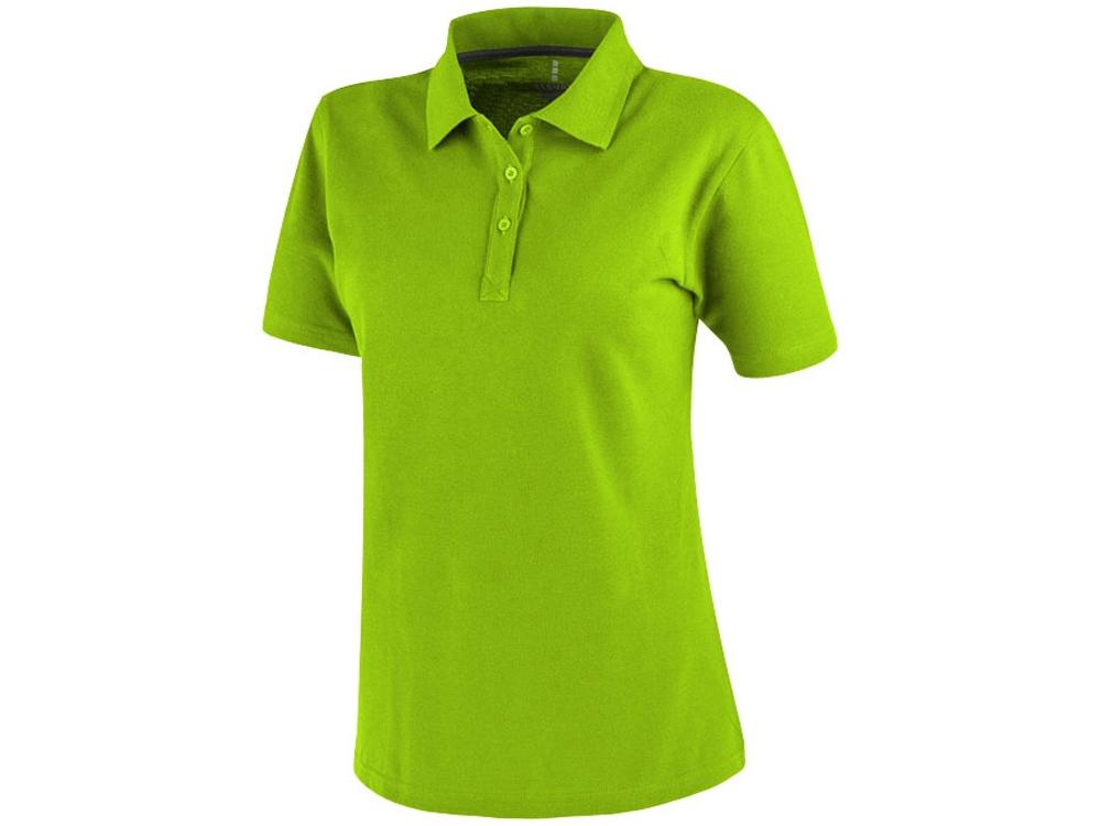 Рубашка поло Primus женская, зеленое яблоко