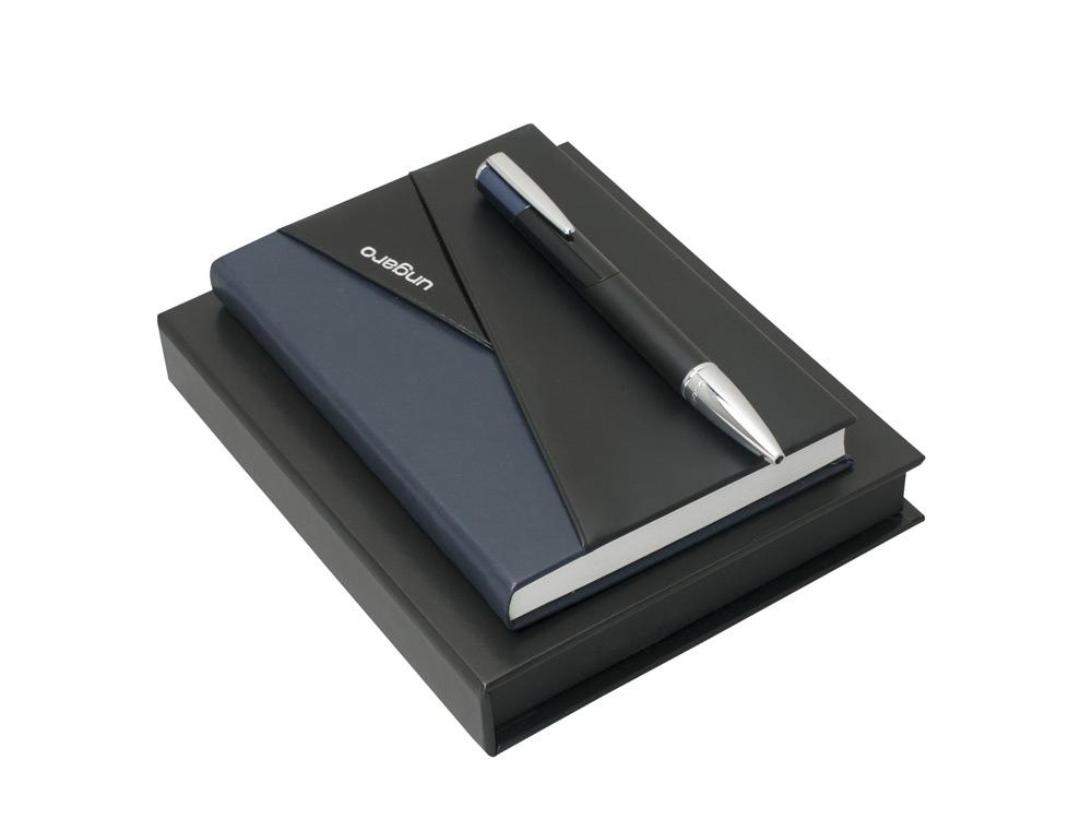 Набор: блокнот A6, ручка шариковая. Ungaro