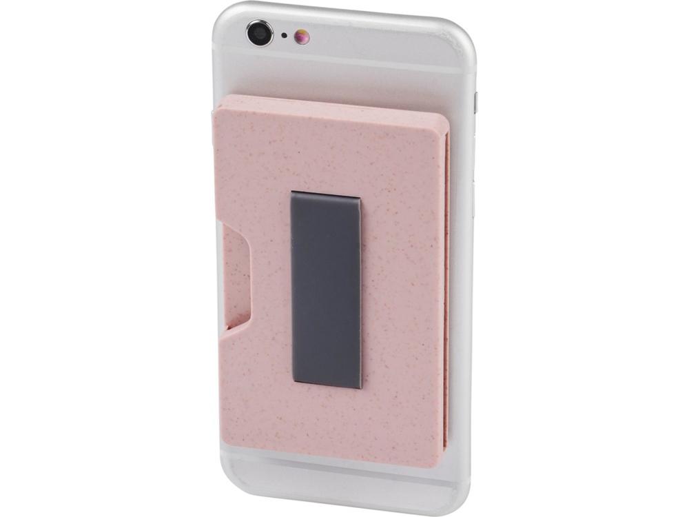 Чехол для карт Grass RFID, розовый