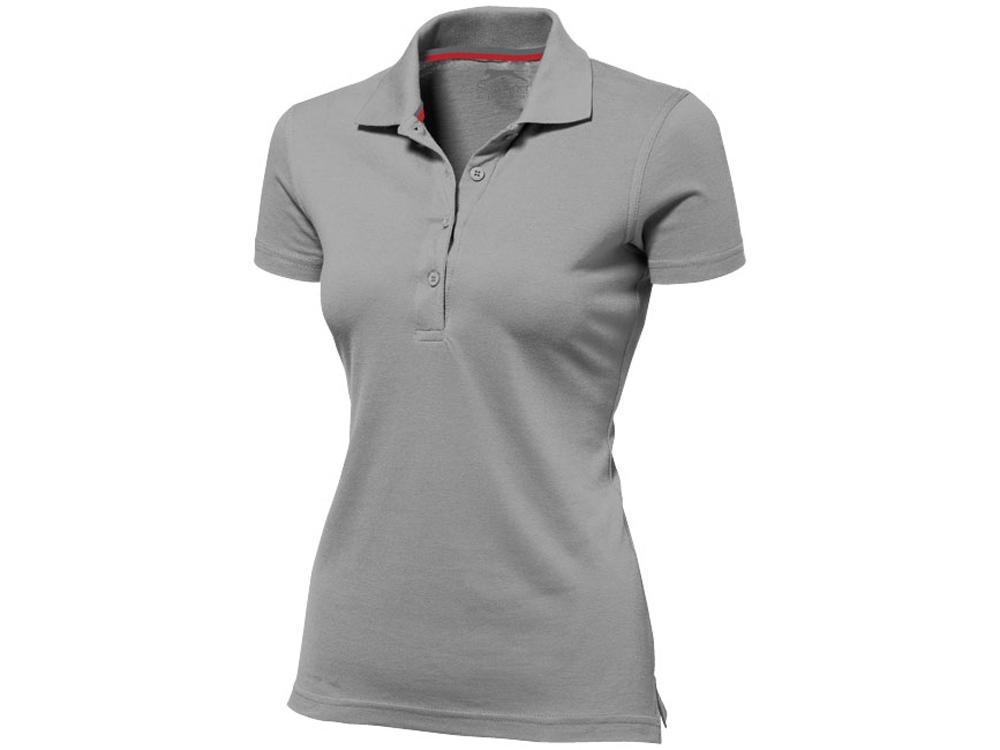 Рубашка поло Advantage женская, серый
