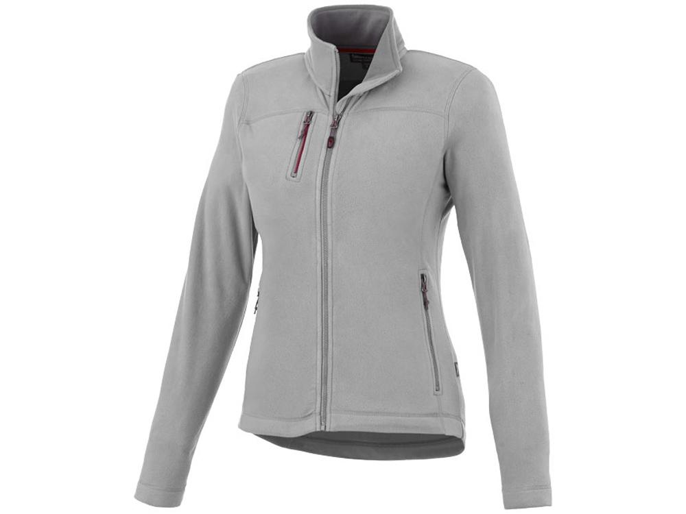 Женская микрофлисовая куртка Pitch, серый