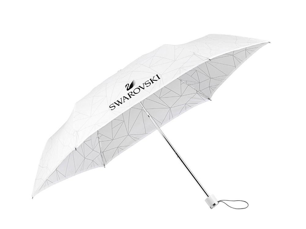 Зонт. Swarovski, белый