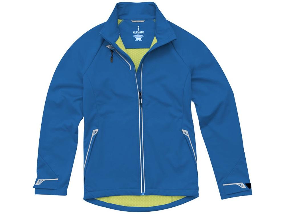 Куртка софтшел Kaputar женская, синий