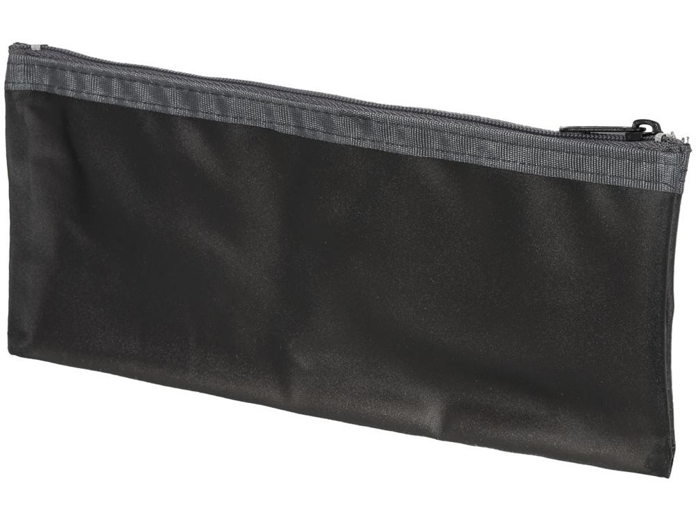 Перламутровый пенал Fabien, черный прозрачный