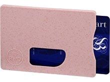 Чехол для карточек RFID «Straw» (арт. 13510102)