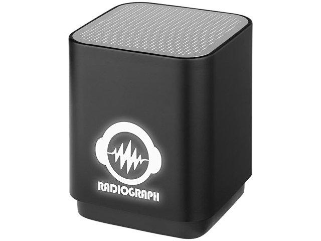 Светодиодная колонка Beam с функцией Bluetooth®, черный
