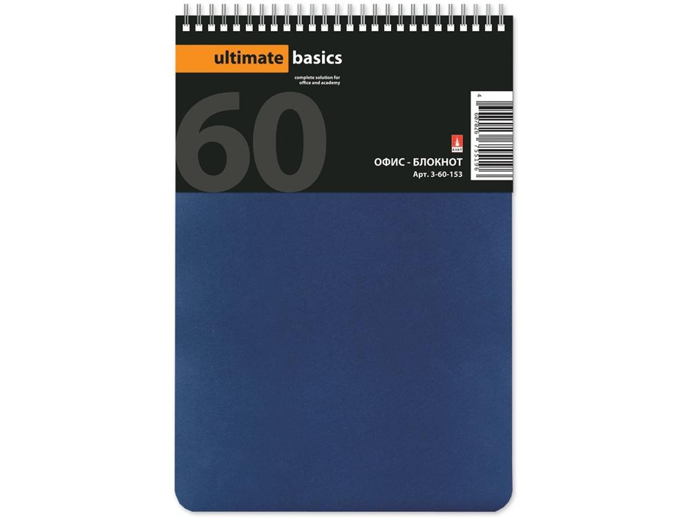 Бизнес - блокнот А5 (135 х 198 мм.) Офис-Лайн 60 л., синий