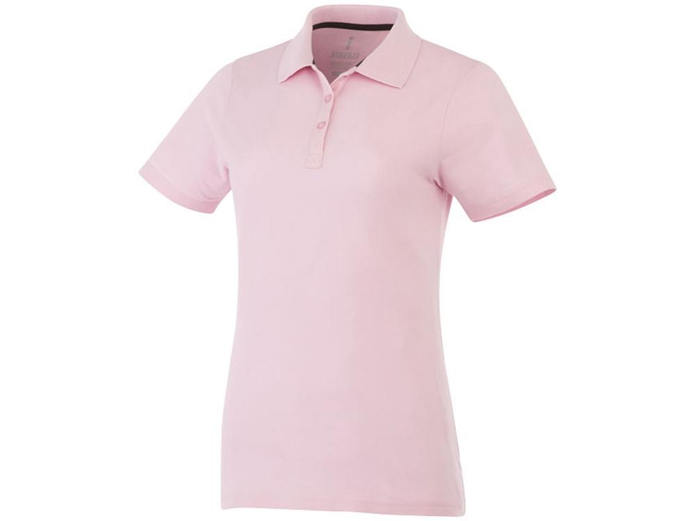 Рубашка поло Primus женская, светло-розовый