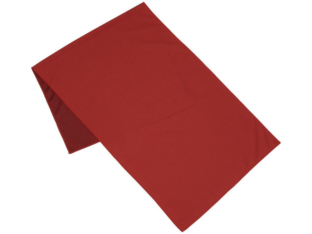 Полотенце для фитнеса Alpha, красный
