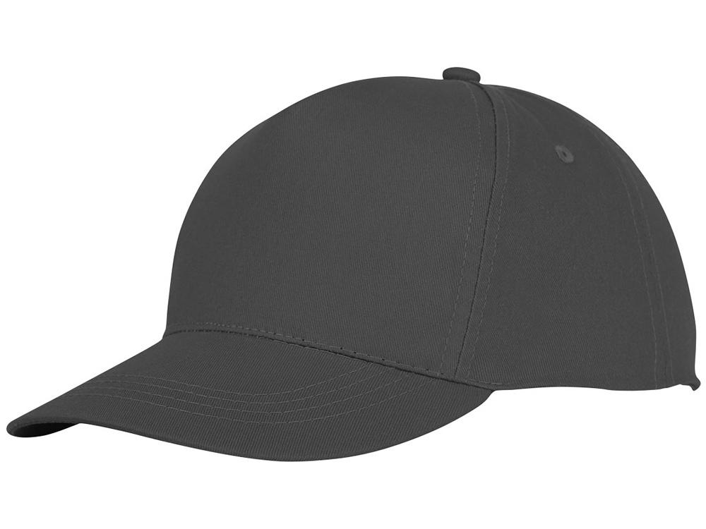 Пятипанельная кепка Hades, серый