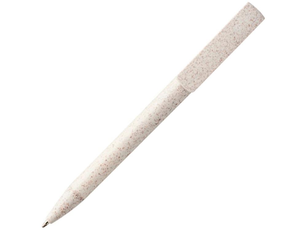 Шариковая ручка и держатель для телефона Medan из пшеничной соломы, cream