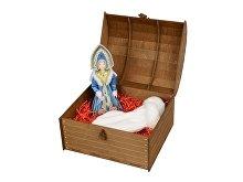 Подарочный набор «Новогоднее настроение»: кукла-снегурочка, варежки (арт. 94804.02)