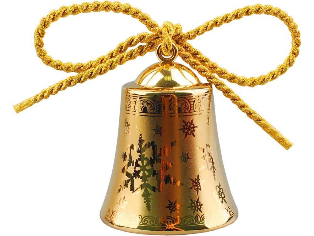 Рождественский колокольчик Versace Gold, золотистый